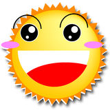 Happy sun Stock Photography