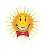 Happy Sun logo Stock Photo
