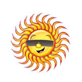 Happy Sun royalty free illustration
