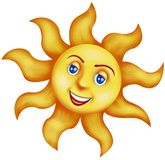 Happy sun Royalty Free Stock Image