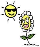 Happy sun Royalty Free Stock Photos