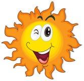 A happy sun Stock Photo