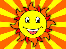 Happy Sun Stock Images