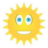 Happy sun Stock Image