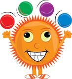 Happy Sun Royalty Free Stock Photography