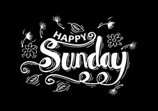 Happy Sunday Stock Photography