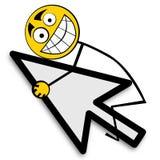 Happy surfing Stock Image