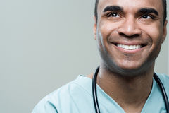 Happy surgeon Royalty Free Stock Images