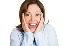 Happy surprise Royalty Free Stock Images