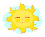 Happy Sweet Sun Royalty Free Stock Images