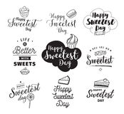 Happy sweetest day Royalty Free Stock Photos