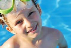 Happy Swimmer Royalty Free Stock Photo