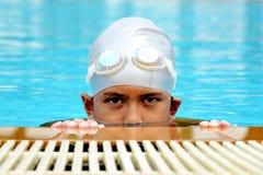 Happy Swimmer Stock Photos