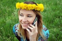 Happy talk Stock Photography
