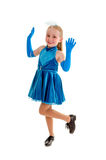 Happy Tap Dance Child Stock Images