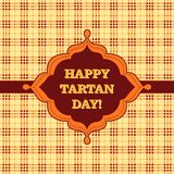 Happy Tartan Day! Stock Images