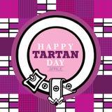 Happy Tartan day Royalty Free Stock Photography