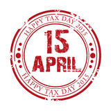 Happy Tax Day. Stock Photos
