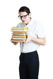 Happy teacher in glasses Royalty Free Stock Photography