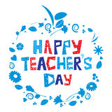 Happy Teacher's Day Royalty Free Stock Photo