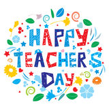 Happy Teacher's Day Royalty Free Stock Images