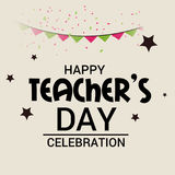 Happy Teacher`s day. royalty free stock photo