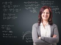 Happy teacher Royalty Free Stock Image
