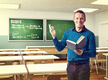 Happy teacher Royalty Free Stock Photo