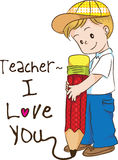 Happy teachers day Royalty Free Stock Photography