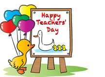 Happy teachers day Stock Photos