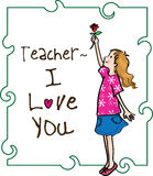 Happy teachers day Royalty Free Stock Photo
