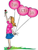 Happy teachers day Royalty Free Stock Photos