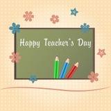 Happy Teachers Day Royalty Free Stock Photos
