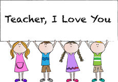 Happy Teachers day Royalty Free Stock Images