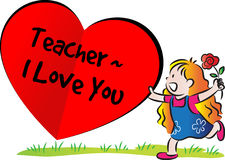 Happy Teachers day Royalty Free Stock Image