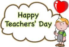 Happy Teachers day Royalty Free Stock Photography