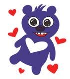 Happy teddy bear Royalty Free Stock Photos