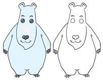 Happy teddy bear Stock Photos