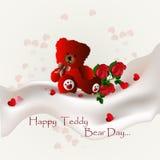 Happy Teddy Bear Day Royalty Free Stock Photos