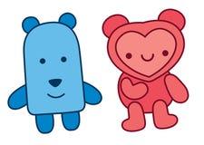 Happy teddy bear Stock Image