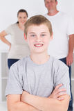 Happy teen boy Royalty Free Stock Photography
