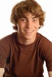 Happy teen boy with braces Stock Image