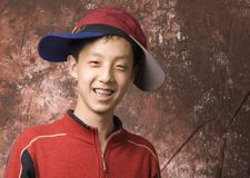 Happy Teen Boy With Braces Royalty Free Stock Photography