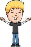 Happy Teen Boy Royalty Free Stock Photo