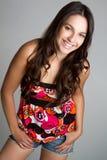 Happy Teen Girl Stock Photography