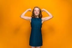 Happy teen girl Royalty Free Stock Photo