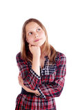 Happy teen girl posing Royalty Free Stock Image