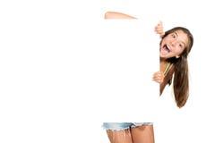 Happy teen girl Stock Image