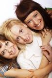 Happy teen girls Stock Photo