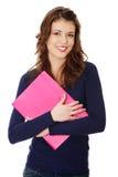Happy teen student girl Royalty Free Stock Photos